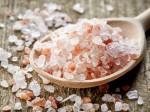 pink hymalayan salt M