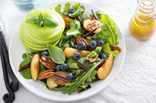 spinach & nuts M