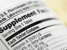 supplement label m