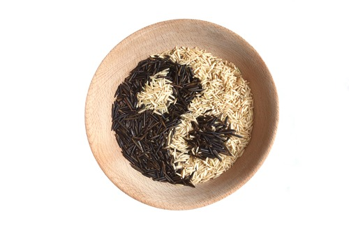 yin yang brown rice m