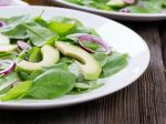 avocado spinach salad M