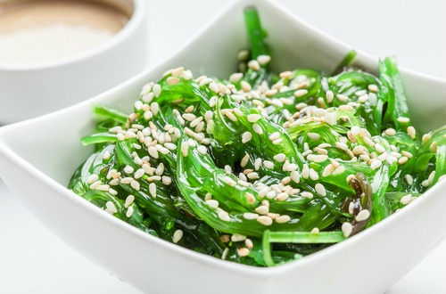 Sea Vegetable salad - iodine M