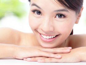 healthy skin asian woman M