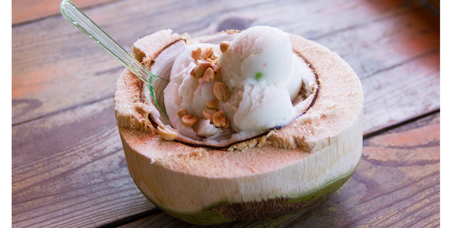 coconut oil ice cream