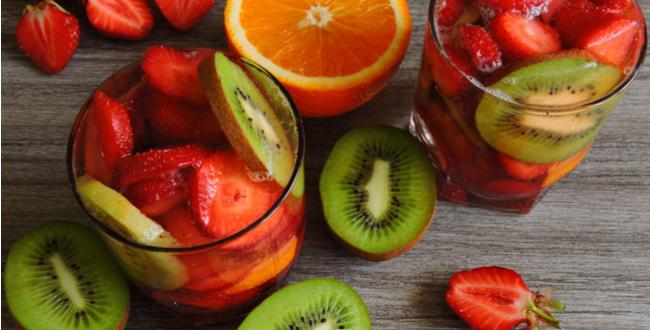 kiwi strawberries