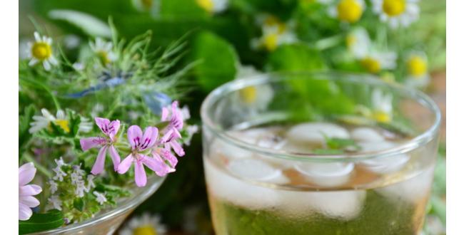 geranium tea