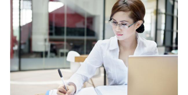 woman office work 072417