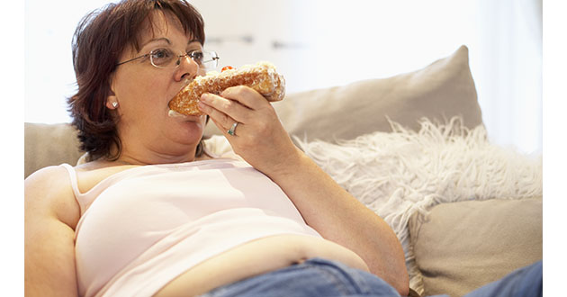 woman overeating-630