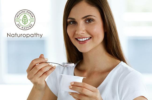woman eating yogurt-eyecatch