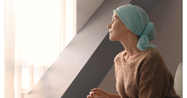 cancer patient with a headscarf-630