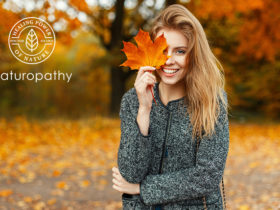 woman in autumn forest-eyecatch