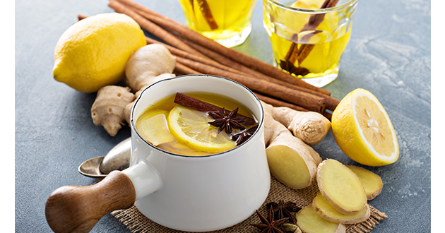 ginger tea with spices-630