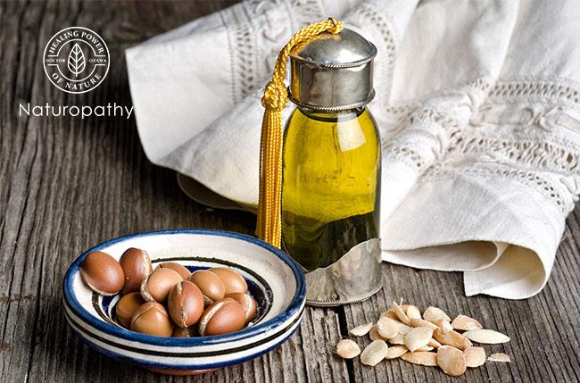 argan oil bottle and seeds-eyecatch