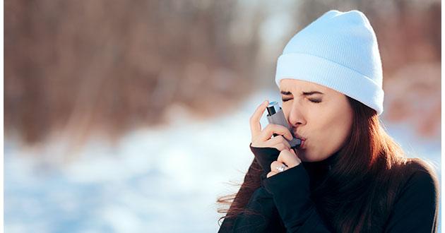 asthma woman inhaler-630