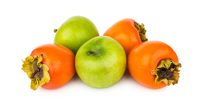 green apples and persimmons-630