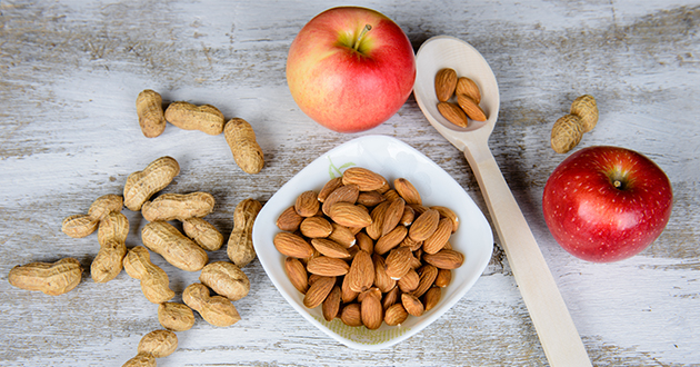 peanut almond apple-silicon-630
