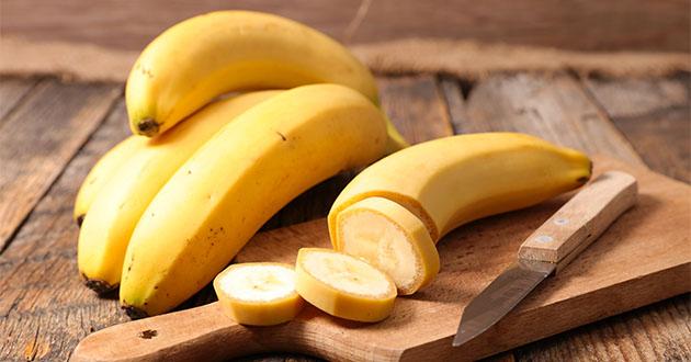 バナナはカリウムなど栄養豊富