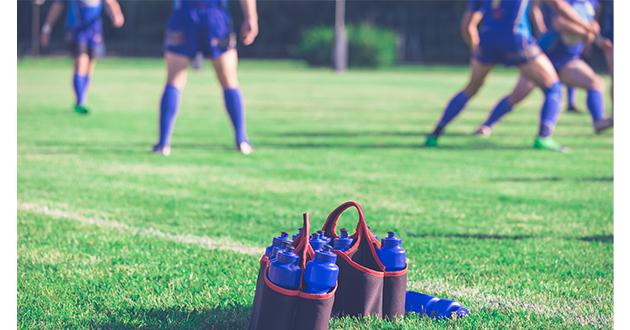 water bottles on field-630