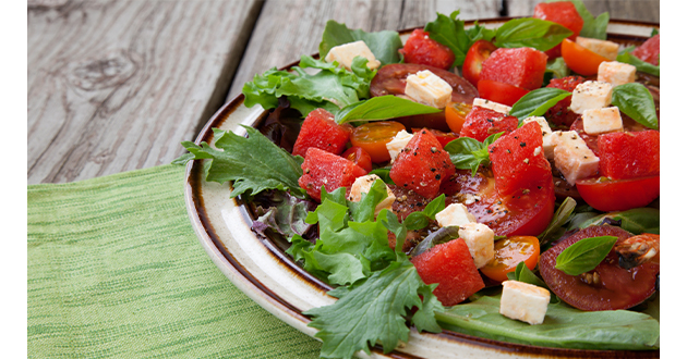 watermelon salad-630