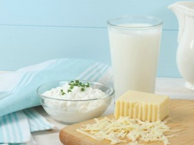牛乳や乳製品