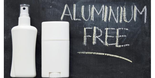 多くの化粧品や制汗剤にはアルミニウムが含まれる