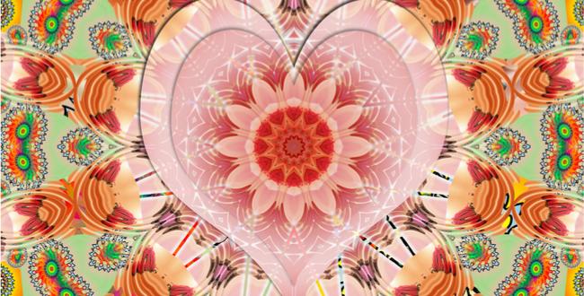 第4チャクラを象徴するキーワードは「愛、受容、バランス感覚」