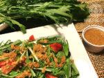 水菜と黒豆サラダ