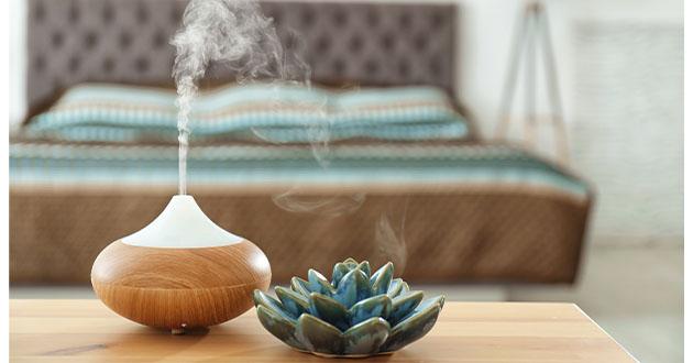 空気が乾燥すると呼吸器を刺激するので、睡眠時には加湿器の使用をおすすめ