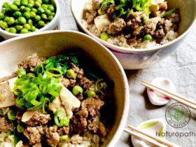 麻婆豆腐風丼