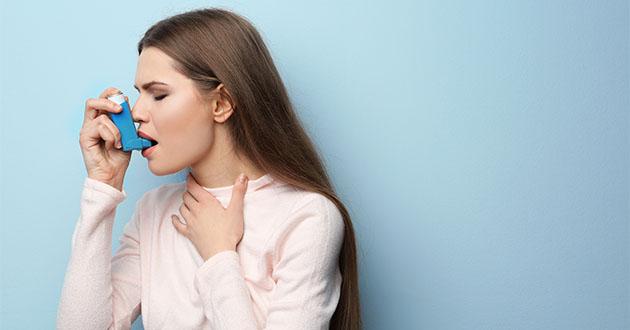 フォルスコリンは喘息治療に効果的