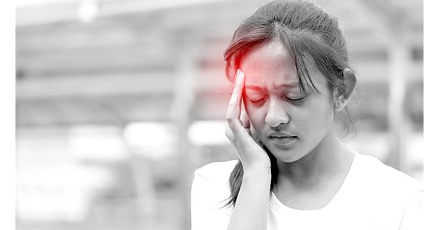 脱水性頭痛予防