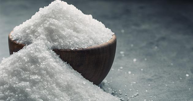 バスソルトには天然塩が効果的