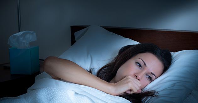 慢性咳嗽は睡眠不足に