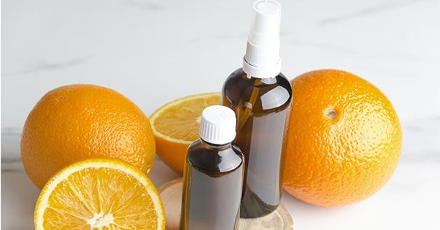 スィートオレンジはお掃除にも効果的