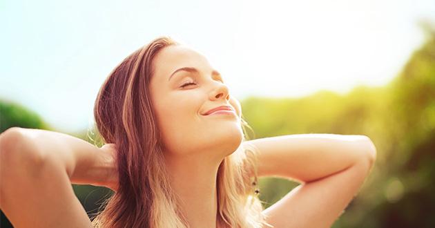 日光浴はセロトニンレベルを上げる