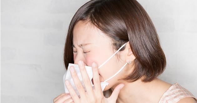辛い花粉症の症状