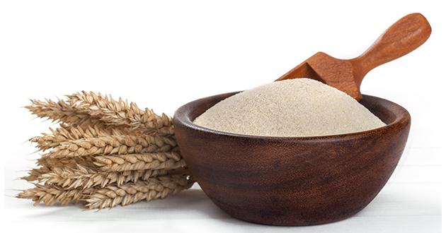 タンパク質含有量の高いセモリナ粉