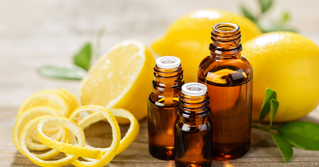 リフレッシュ効果抜群のレモン精油