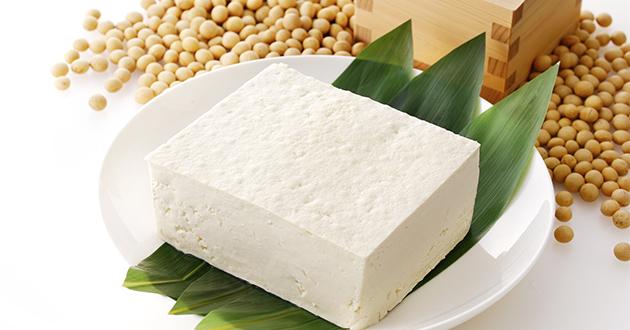 タンパク質が豊富な豆腐
