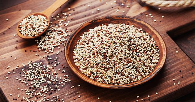 タンパク質や食物繊維が豊富なキヌア