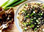 免疫力アップ ネギの玄米チャーハン+海苔レシピ