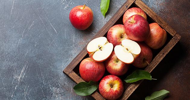 腸内環境を整えるリンゴ