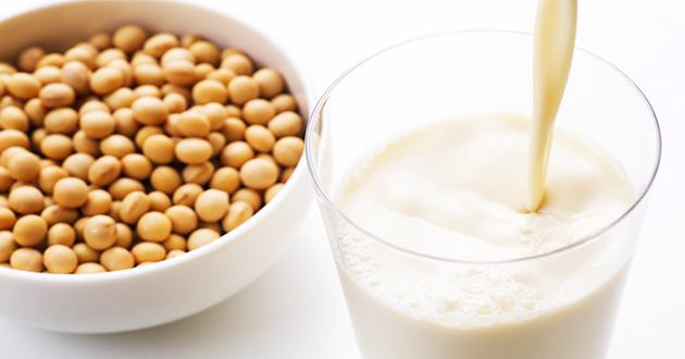 イソフラボン豊富な豆乳