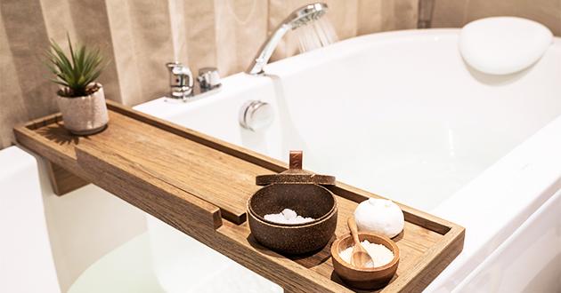 お風呂で森林浴